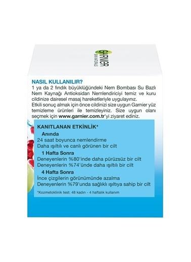 Garnier Nem Bombası Su Bazlı Nem Kaynağı Antioksidan Nemlendirici 50Ml Renkli